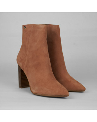 Tommy Hilfiger Essential Suede High Heel Boot