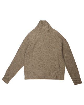 Gant Neps Cable Turtleneck Knit - Manila Mel
