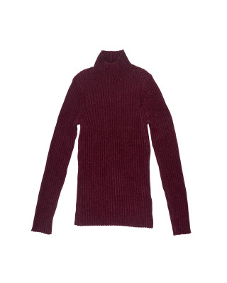 Great Plains Bethan Knit High Neck Jumper - Winter Berry