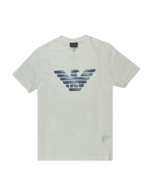 Emporio Armani Eagle Grey Logo T-Shirt