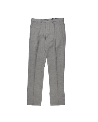 Tommy Hilfiger Denton Wool Look Chinos - Light Grey Heather