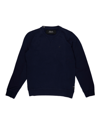 Replay Crewneck Cotton Sweatshirt