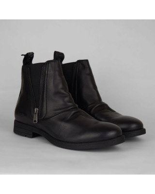 Replay Carron Leather Chelsea Boots