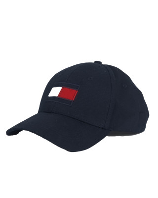 Tommy Hilfiger Flag Patch Pure Cotton Baseball Cap