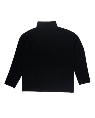 Great Plains Ensley Knit High Neck Jumper - Black