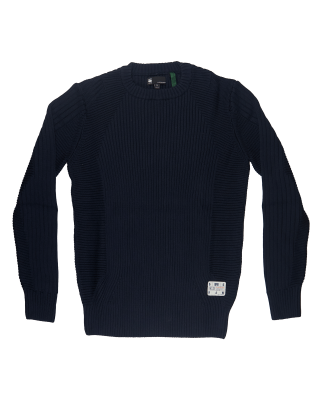 G-Star Raw 3D Biker Knitted Sweater
