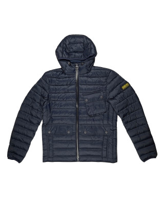 Barbour International Ouston Hooded Slim Quilted Jacket
