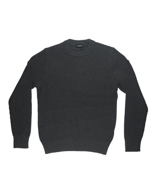 J.Lindeberg Oliver Structure Sweater - Dark Grey