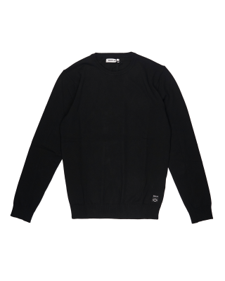 Replay Sweater in Hyperflex Cotton - Dark Blue