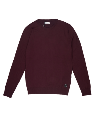 Replay Sweater in Hyperflex Cotton - Plum