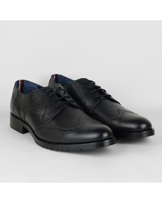 Tommy Hilfiger Lace-Up Leather Brogues