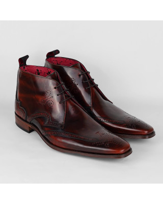 Jeffery West Brown Scarface Chukka Boots