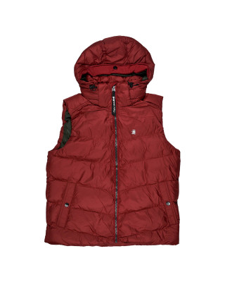 G-Star Raw Whistler Hooded Vest - Dry Red