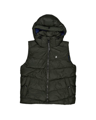 G-Star Raw Whistler Hooded Vest - Asfalt