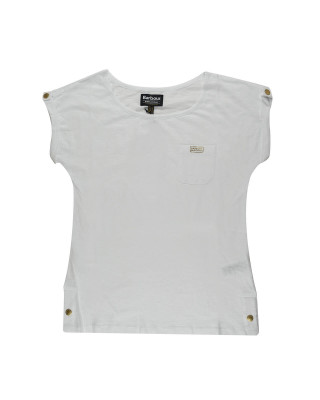 Barbour International Qualify T-Shirt - White
