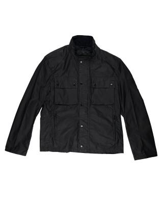 Barbour International Challenge Wax Jacket - Black