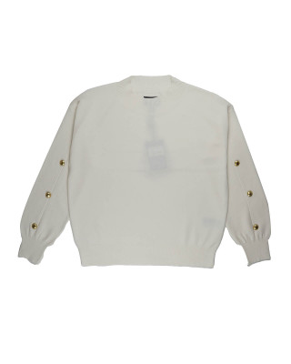Barbour International Drifting Jumper - Off White
