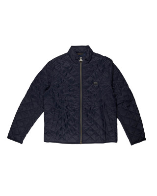 Barbour International Gear Quilted Jacket - Navy