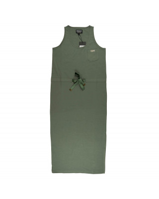 Barbour International Qualify Midi Dress - Light Army Green