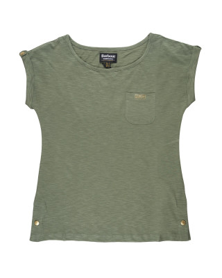 Barbour International Qualify T-Shirt - Light Army Green