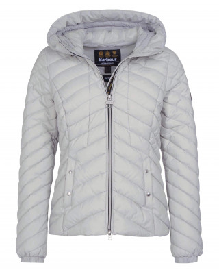 Barbour International Sitka Quilted Jacket - Ice White