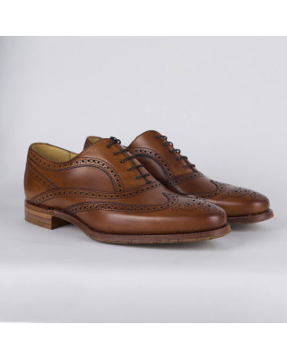 Barker Turing Brogues - Antique Rosewood