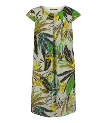 Betty Barclay Casual Floral Print Dress - Green