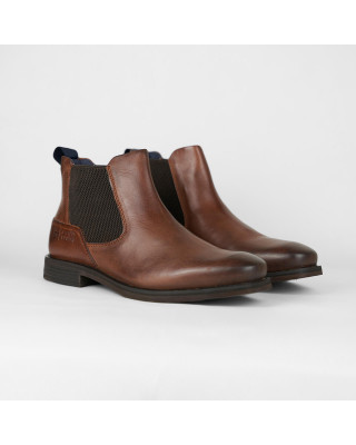 Bugatti Premium Leather Chelsea Boots