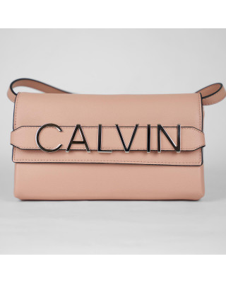 Calvin Klein Clutch Bag - Light Pink