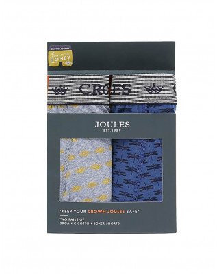 Joules Crown Joules Underwear 2 Pack - Show Me The Honey