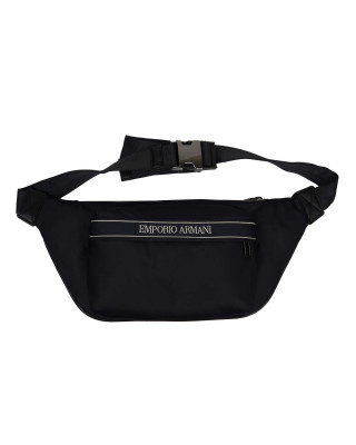 Emporio Armani Logo Nylon Belt Bag