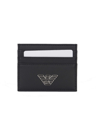Emporio Armani Eagle Black Card Holder