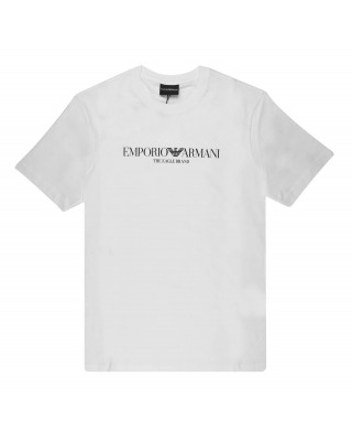 Emporio Armani Eagle Branded Jersey T-Shirt