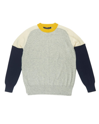 French Connection Kyra Colour Block Crew Neck Jumper