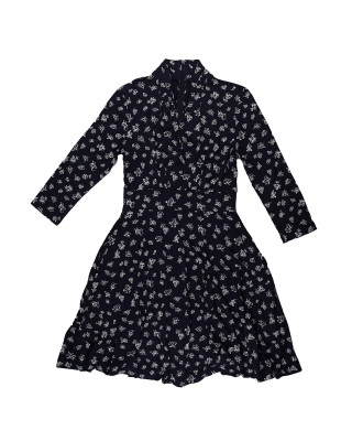 French Connection Fayola Meadow Jersey Dress