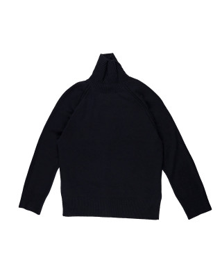 French Connection High Neck Jumper - Utility Blue