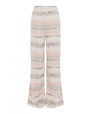 French Connection Hope Crinkle Trousers - Dusty Pink