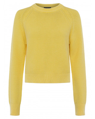French Connection Lilly Mozart Jumper - Bright Daffodil