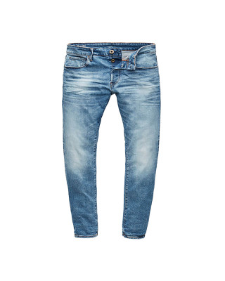 G-Star Raw 3301 Slim Jeans - Authentic Faded Blue