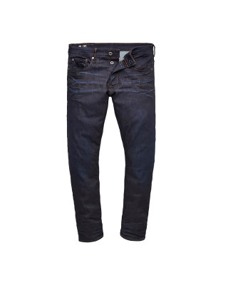 G-Star Raw 3301 Straight Tapered Jeans - Dark Aged