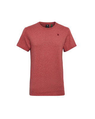G-Star Raw Jersey Base T-Shirt - Dry Red Heather