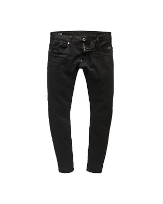G-Star Raw Revend Skinny Jeans - Pitch Black