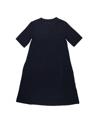 Gant A-Line Jersey Dress - Evening Blue