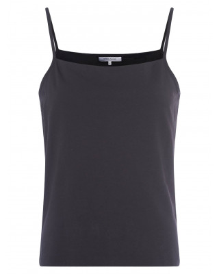 Great Plains Organic Fitted Cami - Black