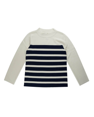 Great Plains Cordell High Neck Jumper - Milk