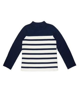 Great Plains Cordell High Neck Jumper - Navy