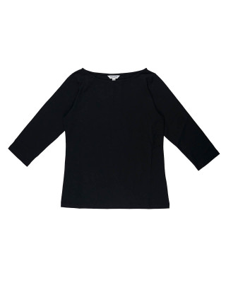 Great Plains Organic Jersey Top - Black