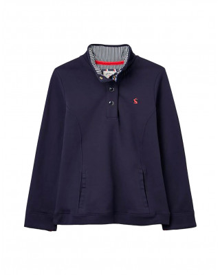 Joules Beachy Funnel Neck Sweatshirt - French Navy
