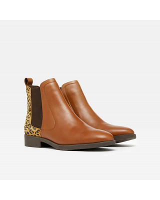 Joules Chelmsford Chelsea Boots - Leopard