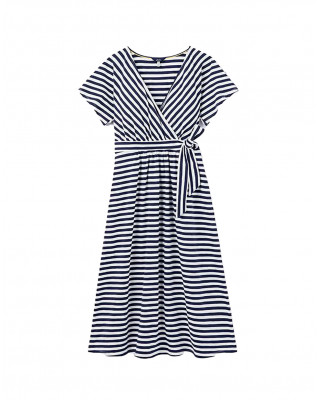 Joules Riley Jersey Wrap Dress - French Navy
